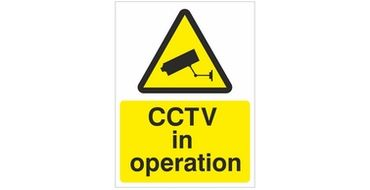 CCCTV in operation sign