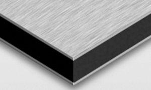 Brushed Aluminium Dibond Sign Material