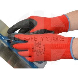 ACEGRIP-LITE - Black Crinkle Latex Gloves