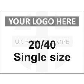 20/40 Single Size Sign