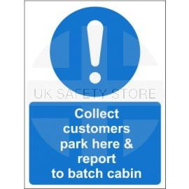 Collect customers sign in a variety of sizes and materials with or without your logo