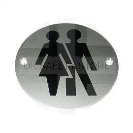 Male/Female Symbol Premier Door Sign