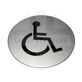 Disabled Toilet Aluminium Sign