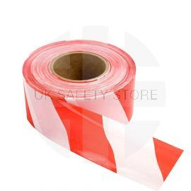 Eco Barricade Tape Non-Adhesive (Red and White) - 75mm x 500m