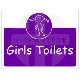 Girls Toilets Door Sign