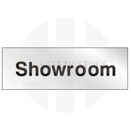 Showroom Prestige Premier Door Sign 300X100mm