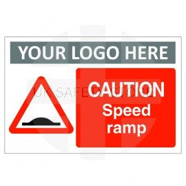 Caution Speed Ramp Sign