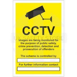 CCTV Sign - Data Compliant  (writable)