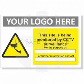 This Site Is Being Monitored By CCTV Surveillance Sign