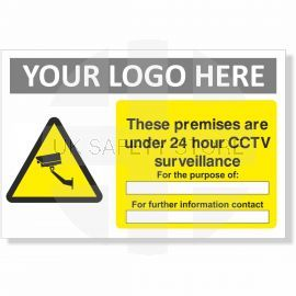 These Premises Are Under 24 Hour CCTV Surveillance For The Purpose Of Sign