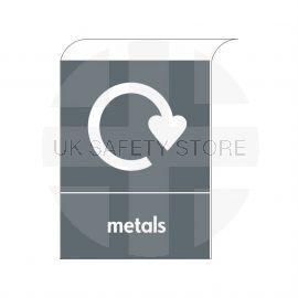 Metal Curve Top Sign -  Aluminium Composite