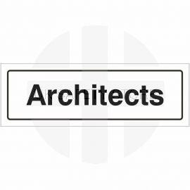 Architects Door Sign