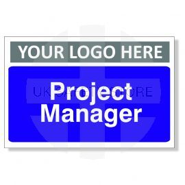 Project Manager Custom Logo Door Sign