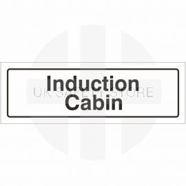 Induction Cabin Door Sign