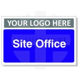 Site Office Custom Logo Door Sign