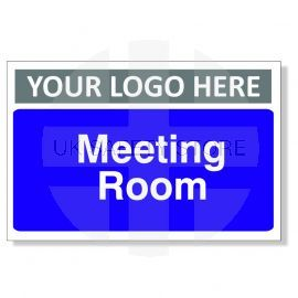 Meeting Room Custom Logo Door Sign