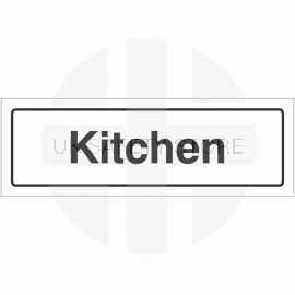 Kitchen Door Sign