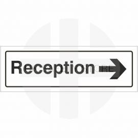 Reception Right Door Sign