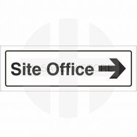 Site Office Right Door Sign