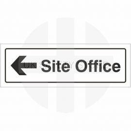 Site Office Left Door Sign