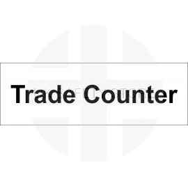 Trade Counter Door Sign