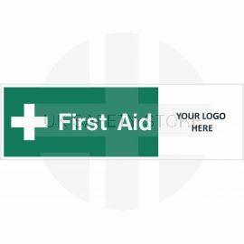 First Aid Door Sign