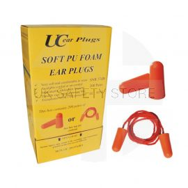 Soft PU Earplugs (Corded)