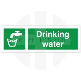 Drinking Water First Aid Sign