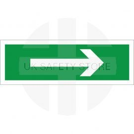 Arrow Right First Aid Sign