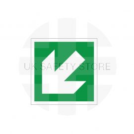 Arrow Down Left Sign