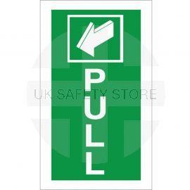 Pull Arrow Back Sign - 100x200