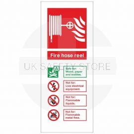 Fire Hose Reel Fire I.D Sign 80x200