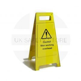 Caution Men Working Overhead Custom Made A Board Freestanding Sign 600mm