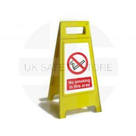 No Smoking In This Area Custom Made A Board Freestanding Sign 600mm