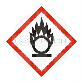 Oxidizing Label Sticker 100X100mm