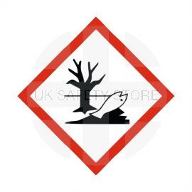 Hazardous To The Environment Label Sticker 100X100mm