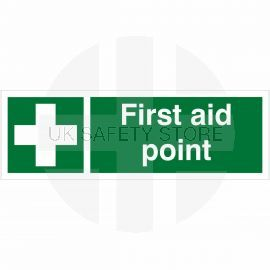 First Aid Point Sign
