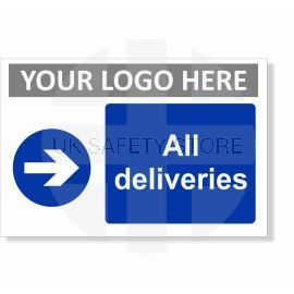 All Deliveries Arrow Right Sign
