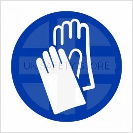 Hand Protection Sign