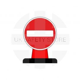 No Entry Aluminium Composite Cone Sign