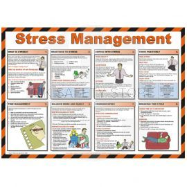 Stress Management Laminated Poster