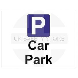 Car park sign in a variety of sizes and materials