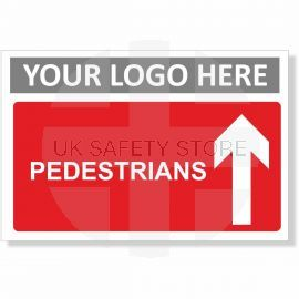 Pedestrians Arrow Up Sign
