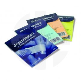 Blue Food Assorted Pack Of 20 Plaster Wallets