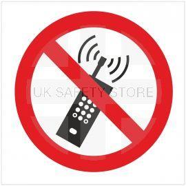 No Mobile Phones Symbol Sign