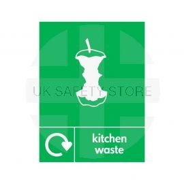 Kitchen Waste Sign