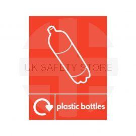Plastic Bottles Sign