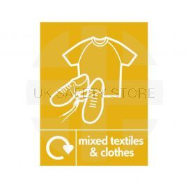 Mixed Textiles And Clothes Sign