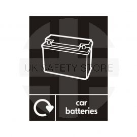 Car Batteries Sign