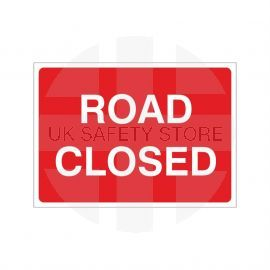 Road Closed Temporary Sign - 1050W x 750Hmm